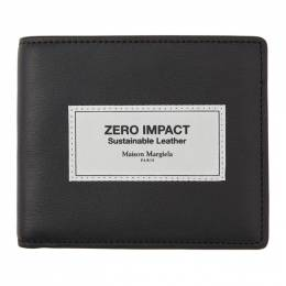 Maison Margiela Black Zero Impact Leather Wallet S35UI0435 P3532