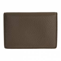 Maison Margiela Taupe Card Wallet S55UI0203 P2686