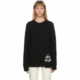 Maison Margiela Black Gauge Sweater S50GP0176 S16788