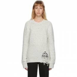Maison Margiela Off-White Gauge Sweater S50GP0176 S16788
