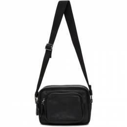Maison Margiela Black Leather Shoulder Bag S55WG0112 P0399