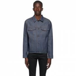 Naked And Famous Denim Blue Denim Stealth Pocket Jacket 164050164