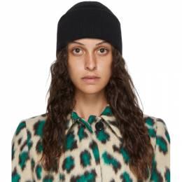Mm6 Maison Margiela Black Wool Beanie S52TC0033 S17385