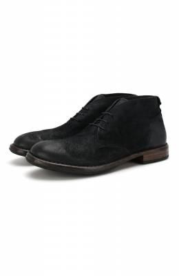 Замшевые ботинки Moma 2BW006-BE
