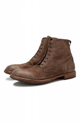 Замшевые ботинки Moma 2CW022-BE