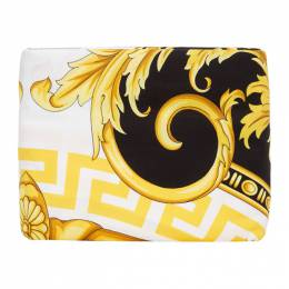 Versace White and Black Medusa Queen-Sized Duvet Cover ZDC000004 ZCOP0005