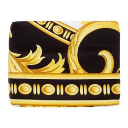Versace White and Black Medusa King-Sized Duvet Cover ZDC000005 ZCOP0005