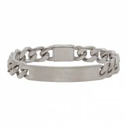 Maison Margiela Silver Logo Chain Bracelet SM1UY0017 S12706