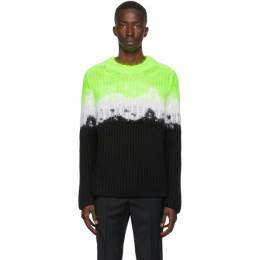 Valentino Multicolor Brushed VLTN Sweater UV3KC10Q6N4