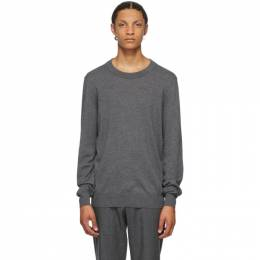 Maison Margiela Grey Wool 14 Gauge Sweater S50HA0959 S17364