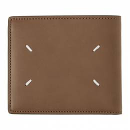 Maison Margiela Beige Zip Card Case Wallet S55UI0262 PS935