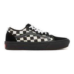 Vans White and Black OG Old Skool LX Sneakers VN0A3WMA17Q