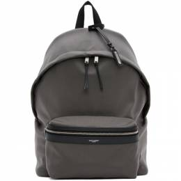 Saint Laurent Grey City Backpack 534967GIV3F