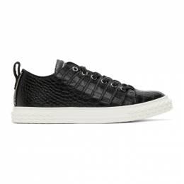 Giuseppe Zanotti Design Black Blabber Sneakers RU00020-86463