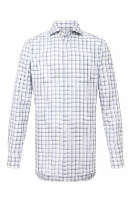 Хлопковая рубашка Luigi Borrelli EV08/FELICE/TS30154