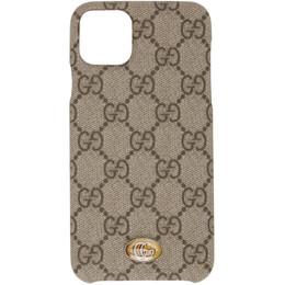 Gucci Beige Ophidia GG iPhone 11 Max Case 625714 K5I0S