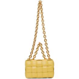 Bottega Veneta Yellow Intrecciato The Chain Cassette Bag 631421 VBWZ0