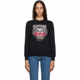 Kenzo Black Classic Tiger Sweatshirt FA62SW8244XA