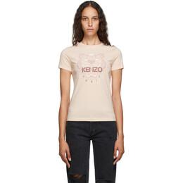 Kenzo Pink Tiger T-Shirt FA62TS8464YB