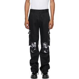 424 Black Wu-Tang Cargo Pants 3005.121.0999