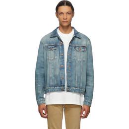 Nudie Jeans Blue Denim Jerry Pacific Jacket 160682