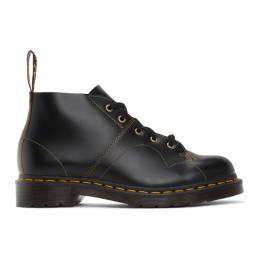 Dr. Martens Black Vintage Church Boots R16054001