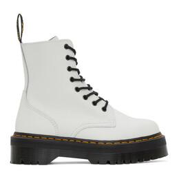 Dr. Martens White Jadon Boots R15265100