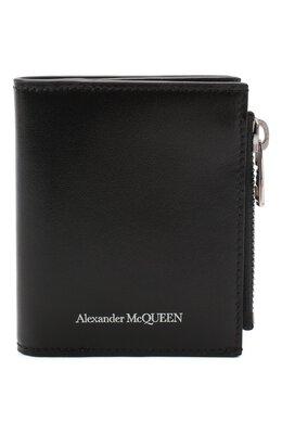 Кожаное портмоне Alexander McQueen 625522/1XI0Y
