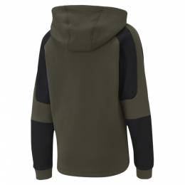 Puma - male - Детская толстовка EVOSTRIPE Full-Zip Hoodie – Forest Night – M 4062453465917