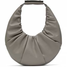 Staud Grey Soft Moon Bag 207-9263-FGRY