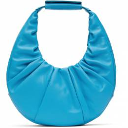 Staud Blue Soft Moon Bag 207-9263-BRB