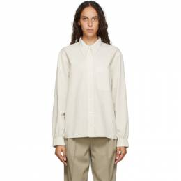 Lemaire Off-White Pointed Collar Shirt W 201 SH227 LF445