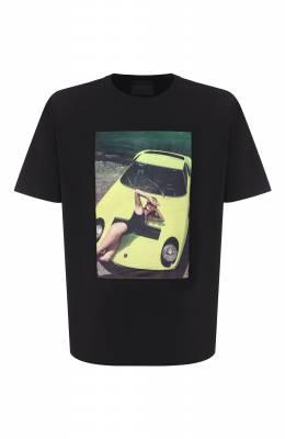 Хлопковая футболка Limitato THINK PINK/T-SHIRT RELAX