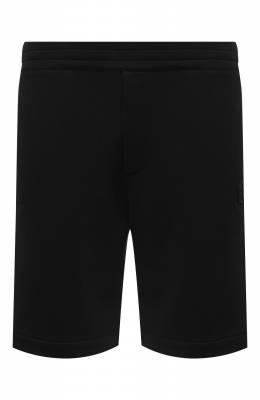 Хлопковые шорты Alexander McQueen 625370/QPX43