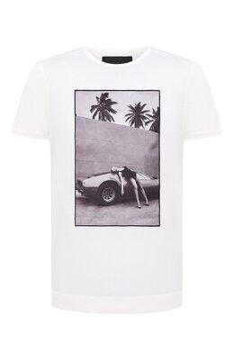 Хлопковая футболка Limitato HEADING S0UTH/T-SHIRT REGULAR