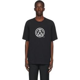 Oamc Black Mono T-Shirt OAMR708567