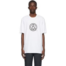 Oamc White Mono T-Shirt OAMR708567