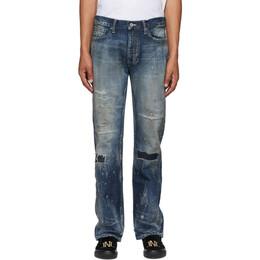 Neighborhood Indigo Bullet Savage Mid Jeans 201XBNH-PTM13