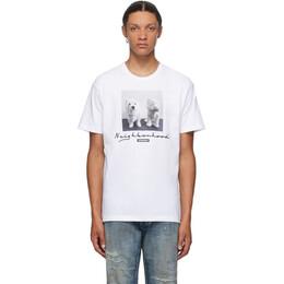 Neighborhood White Uni T-Shirt 201PCNH-ST13
