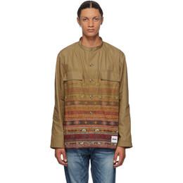 Neighborhood Khaki Mil Ve Long Sleeve Shirt 201BENH-SHM01