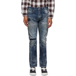 Neighborhood Indigo Bullet Savage Deep Narrow Jeans 201XBNH-PTM15