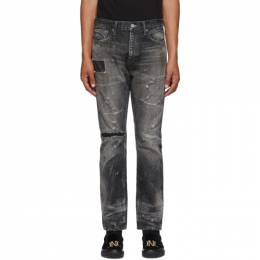 Neighborhood Black Bullet Savage Deep Narrow Jeans 201XBNH-PTM15