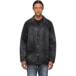 Neighborhood Black Denim Savage SCC Boxy Jacket 201XBNH-JKM04
