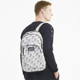 Puma - Рюкзак PUMA Academy Backpack – Puma White-PUMA No. 1 AOP – OSFA 4062453788887