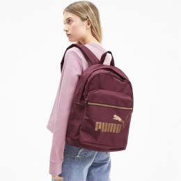 Puma - female - Рюкзак WMN Core Base College Bag – Burgundy – OSFA 4062453788009