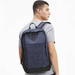 Puma - Рюкзак PUMA S Backpack – Peacoat-Heather – OSFA 4062453787781