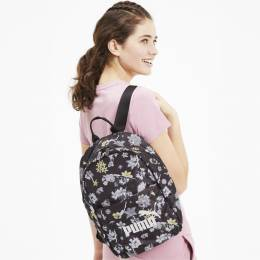 Puma - female - Рюкзак WMN Core Seasonal Backpack – Puma Black-AOP – OSFA 4062453788986