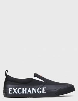 Слипоны Armani Exchange 130200