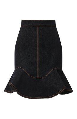 Джинсовая юбка Alexander McQueen 630911/QMAA2