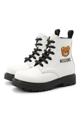 Кожаные ботинки Moschino 65759/KIPS/18-27